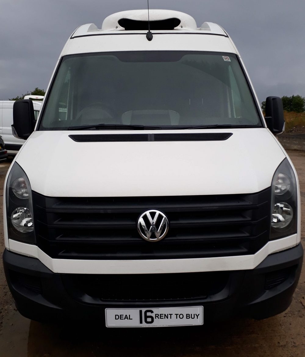 VW crafter chiller van on rent to buy