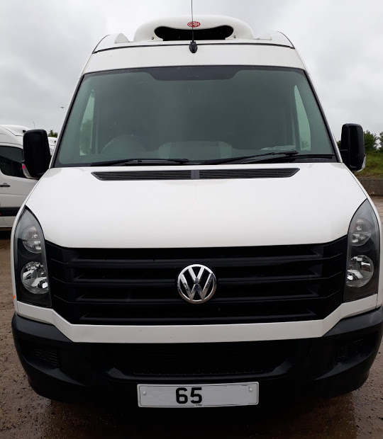 VW CRAFTER 65 PLATE mwb CHILLER FOR SALE icicle fridge vans tel 0345 5760 792